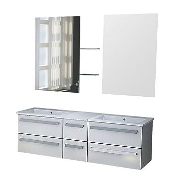 Zurich Bathroom Washbasin Unit White