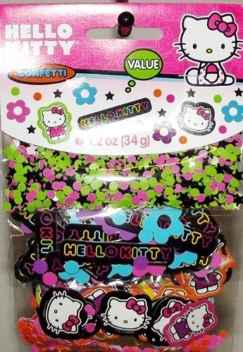 Hello Kitty 'Neon Tween' Confetti Value Pack (3 types) - 1