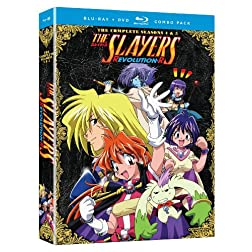 Slayers: Complete Seasons 4 &amp; 5 (Blu-ray/DVD Combo)