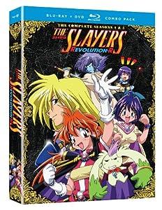 Slayers: Complete Seasons 4 & 5 (Blu-ray/DVD Combo)