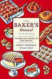 img - for Baker's Manual (5th Edition) by Joseph Amendola (2002-09-16) book / textbook / text book