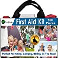 First Aid Kit By noyCare-100pcs of Professional Supplies for Easy Care of Trauma-with Small, Cute Bag for Backpack-perfect for Boy Scout, Girl Scout, Auto, Baby, Family, Sports, Road Safety Kit from noyCare
