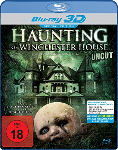 Haunting of Winchester House Real 3D [3D Blu-ray]