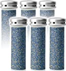 Emjoi Micro-Pedi Compatible Refill Rollers (Super Coarse) - Pack of 6