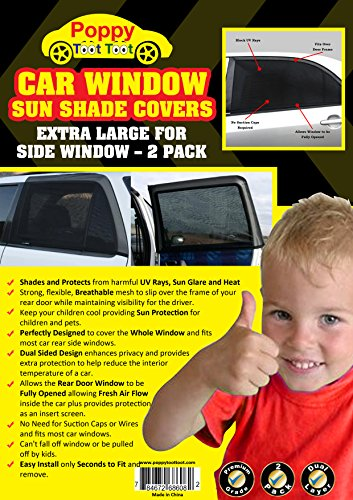 premium full side window cover for baby car sun shade with dual layer protection protect baby. Black Bedroom Furniture Sets. Home Design Ideas