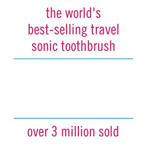 Violife Vss202 Sonic Electric Toothbrush for Home or Travel, Raspberry Pink, 0.15 Pound (Color: Raspberry Pink, Tamaño: Medium)