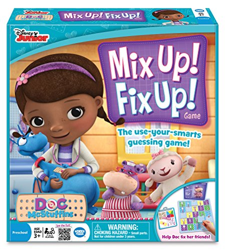 Doc McStuffins Mix Up Fix Up Game