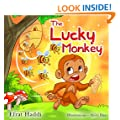"Children's books : "" The Lucky Monkey "",( Illustrated Picture Book for ages 3-8. Teaches your kid the value of thinking before acting),Beginner readers,Bedtime story,Social skills for kids collection"
