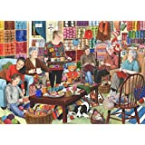 1000 Piece Jigsaw Puzzle - Knit & Natter