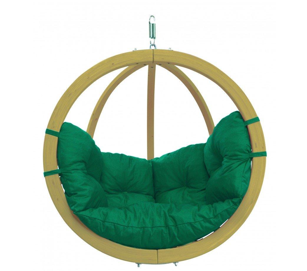 Amazonas Kugelgestell Hängesessel Globo Chair green
