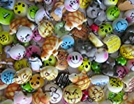 Variety of 5 Squishy Charms