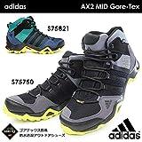 アディダス 防水アウトドアシューズ AX2 MID Gore-Tex S75750 S75821ミッドカット トレッキング ゴアテックス メンズスニーカー adidas AX2 MID Gore-Tex S75821 25.0cm