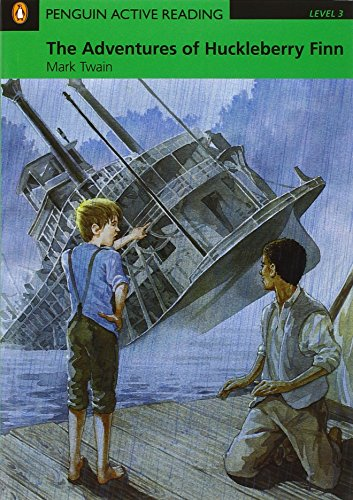 Penguin Active Reading 3: The Adventures of Huckleberry Finn Book and CD-ROM Pack: Level 3 (Penguin Active Reading (Graded Readers))