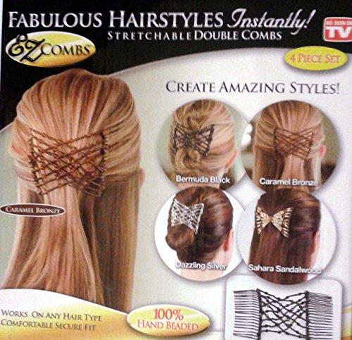 ez-combs-fabulous-hairstyles-instantly-4-piece-set-bermuda-black-caramel-bronze-dazzling-silver-saha