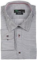 SWATHE Men's Formal Shirt (5989-2-40, Multi-Coloured)