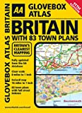 AA Glovebox Atlas Britain with 83 Town Plans