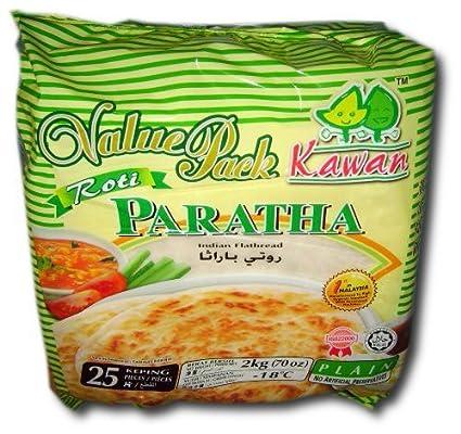 Roti Paratha Frozen Kawan Roti Paratha Plain