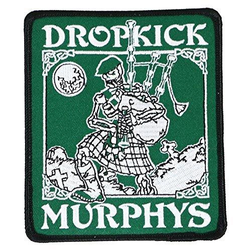 Dropkick Murphys Skeleton Piper Toppa / Patch