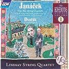Janacek: The 2 String Quartets / Dvorak: Cypresses, B152