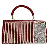 Glitter Collection Women's Red Clutch SQMR001