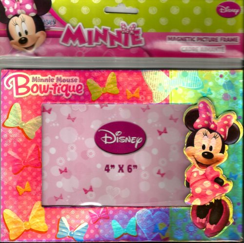 1 X Minnie Mouse Bow-tique Magnetic Picture Frame (4x6 In)