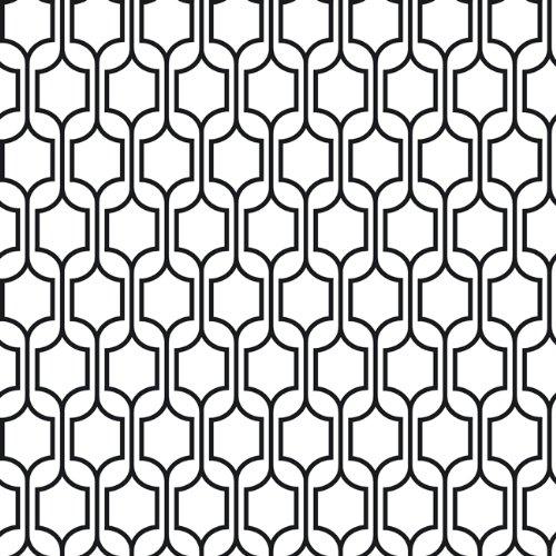 Modern black and white wallpaper 2017 grasscloth wallpaper for Cheap black wallpaper