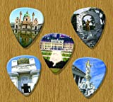 Vienna Austria 5 Loose Guitar Picks