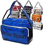デサント movesport ムーブスポーツ パンチング エナメル ショルダーバッグ Lサイズ DAC8310