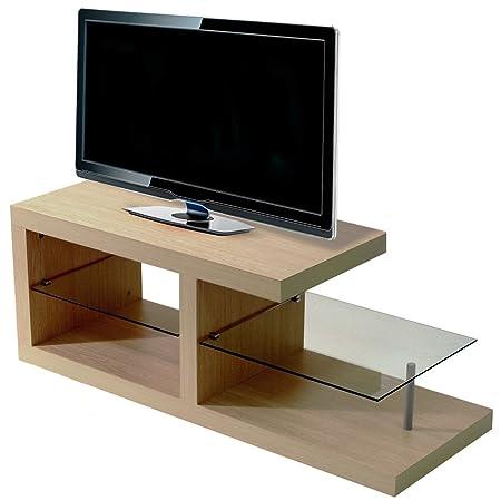 HALO - mesa de centro / mueble para TV - en imitacion de roble