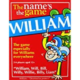 WILLIAM'S GAME: Mens stocking filler for men called WILL, BILL, LIAM etc. Also a fun secret santa.