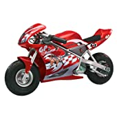 Razor Pocket Rocket Miniature Electric Bike #155001 (Red)