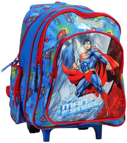 """Superman Superman 14\""""Trolley School Bag (Multicolor)"""
