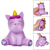 2018 Newest Joyful Unicorn Slow Rising Squishy Toys, E-SCENERY Squishies Stress Toys Squishy Kawaii Squishy Stress Reliever Anxiety Toys Cream Scented Toy For Children Adults