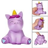 2018 Newest Joyful Unicorn Slow Rising Squishy Toys, E-SCENERY Squishies Stress Toys Squishy Kawaii Squishy Stress Reliever Anxiety Toys Cream Scented Toy For Children Adults