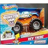 Hot Wheels Monster Jam 2012 Rev Tredz SHOCKER 30th Anniversary Official Monster Truck Series 1:43 Sc
