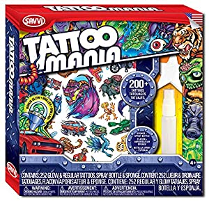 Tattoo Mania - Boys Temporary Tattoo Kit