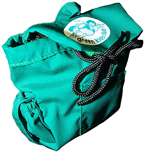 Green Kids Club Doll Backpack Plush