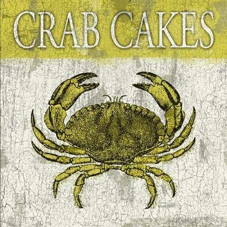 Crabe Gâteaux Par Gris, Jace-Fine Art Print Disponible sur papier et toile, Toile, SMALL (12.5 x 12.5 Inches )