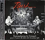 Rush - Hemispheres in Concert - Live in Tucson, AZ, USA, 20th November 1978 - 2 CD by Rush