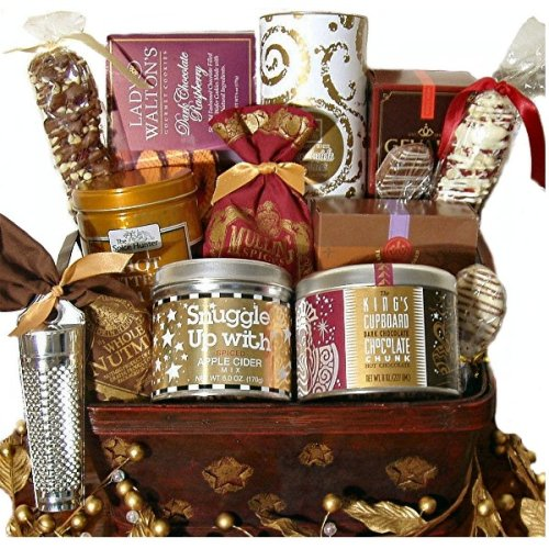 Heart Warming Holiday Small Gourmet Gift Basket