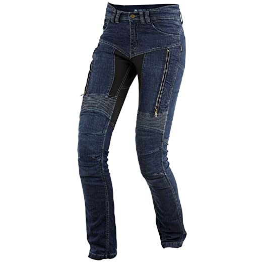 Trilobite paRADO dupont kevlar langgröße jean pour femme bleu