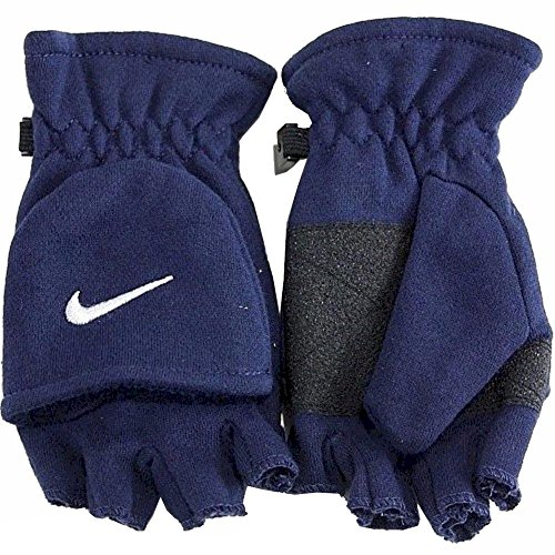 Nike Youth Boy's 8/20 Convertible Gloves (Obsidian) (Kids Convertible Gloves compare prices)