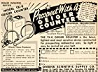 1949 Ad Geiger Counter Prospecting TX-8 Omaha Scientific Supply Radioactive Ore - Original Print Ad