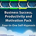 Business Success, Productivity, and Motivation Pack: Four in One Self-Hypnosis, Guided Meditation, and Subliminal Affirmations Collection (The Sleep Learning System) (       UNABRIDGED) by Joel Thielke Narrated by Joel Thielke