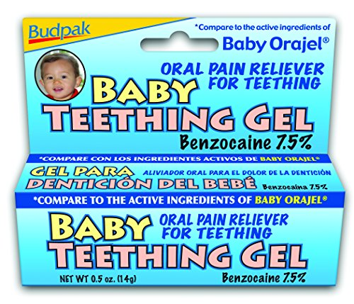 Budpak Baby Teething Gel, 0.5 Ounce