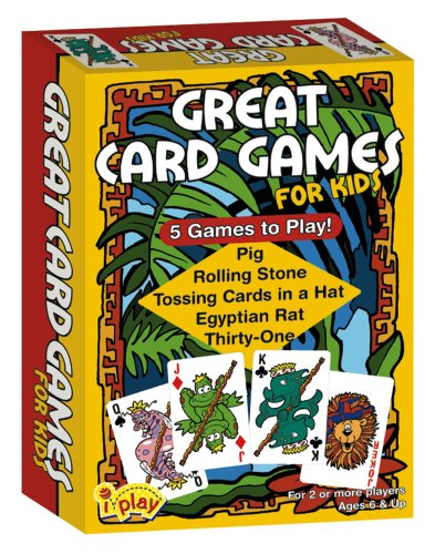 International Playthings iPlay Great Card Games for Kids - 1
