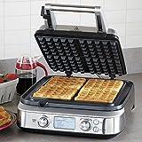 Breville Smart Waffle Pro Stainless Steel 4 Slice Waffle Maker