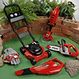 CP Toys 6 Pc. Child-size Power Garden Tools w/ Lawn Mower