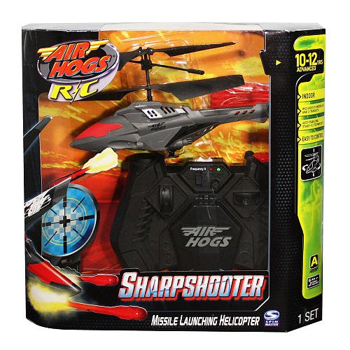 Air Hogs Sharp Shooter Sport -Black & Red (Sharp Shooter Helicopter compare prices)