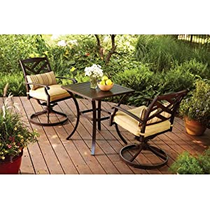 Better homes and gardens sonoma falls 3 piece - Better homes and gardens bistro set ...
